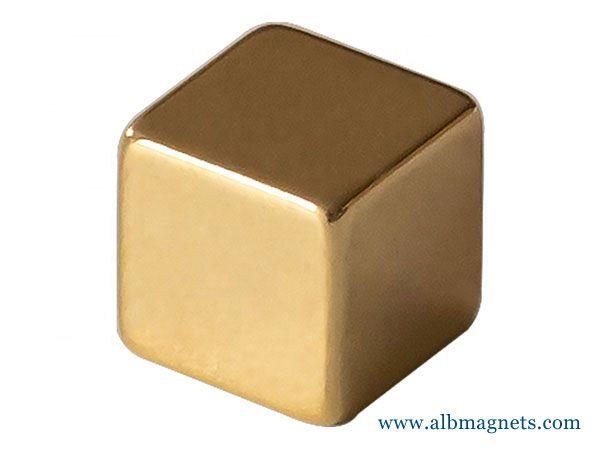 10mm cube permanent magnet neodymium strong N52