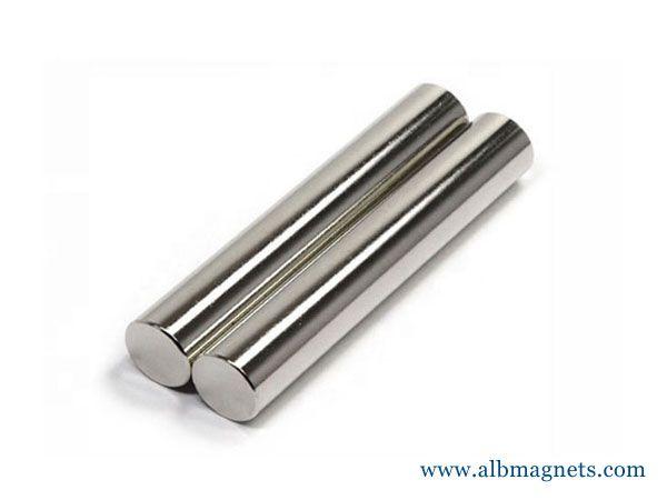 16000 gauss cylindrical bar rod neodymium magnet