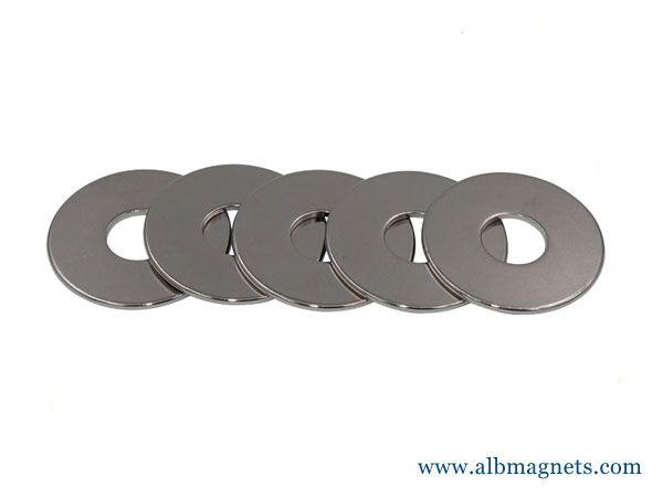 1mm thickness thin neodymium ring magnet