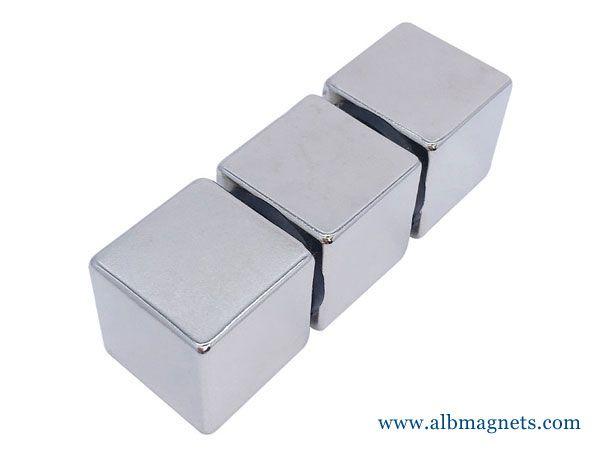 25x25x25mm magnetic square 1 cube neodymium magnet