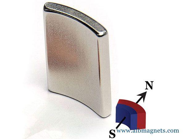 N52 wedge neodymium magnet 60mm large magnet
