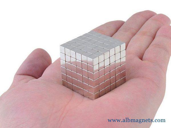 216Pcs Neodymium Magnet Cube 4mm N35