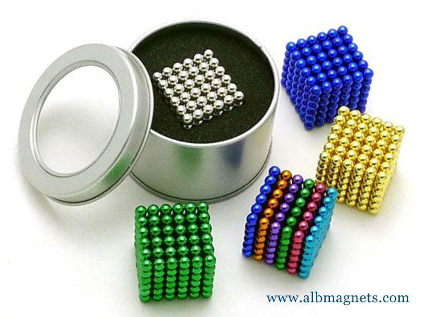 1000Pcs 5Mm Magnetic Balls