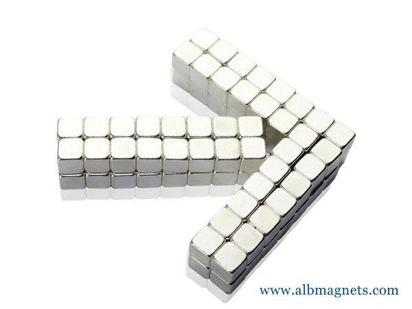 amazon hot selling neodymium magnetic block cube