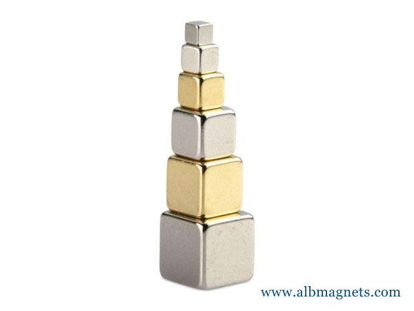 hot selling neodymium magnetic block cube