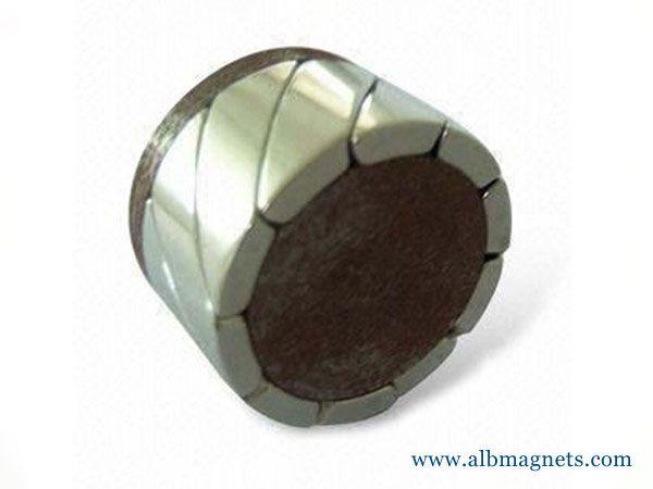 arc segment neodymium magnets for motors
