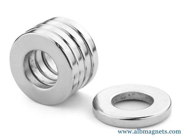 big neodymium uni pole radial magnetization ndfeb magnets