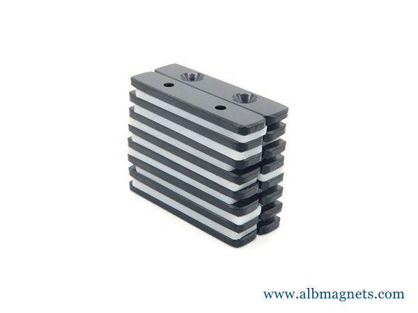 black epoxy neodymium tube magnet for sale