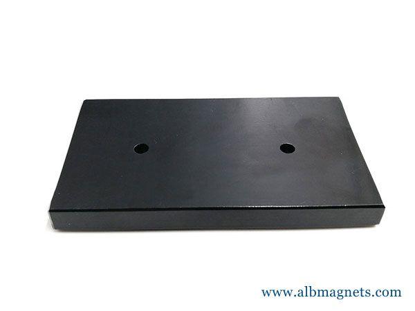 block magnets super-strong permanent magnets ferrite