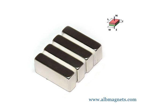 block rectangular strong neodymium magnets 50x25x12mm N52 magnets