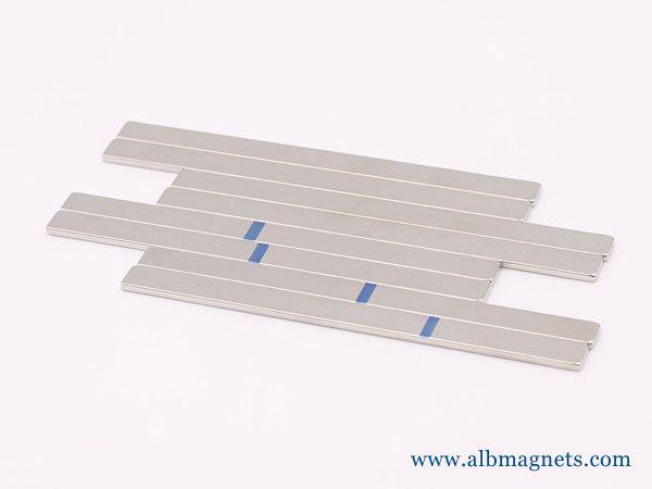buy albmagnets 1kg 100x6x2mm n50 n55 bar
