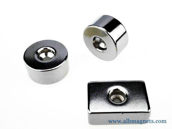 custom shape diametrically magnetized large small thin
