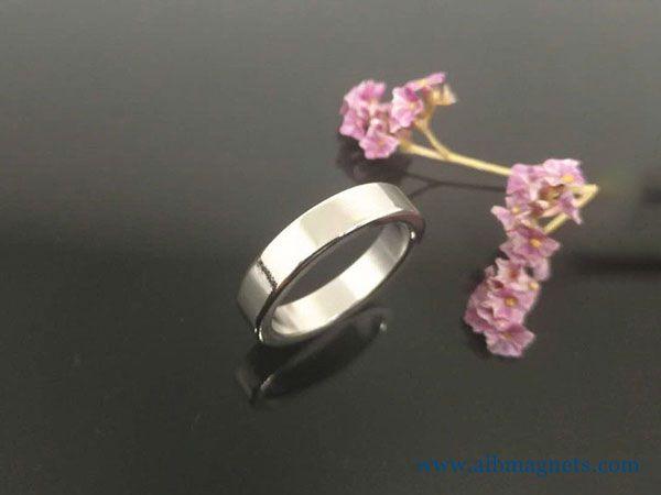 custom shape permanent ndfeb tube neodymium magnet