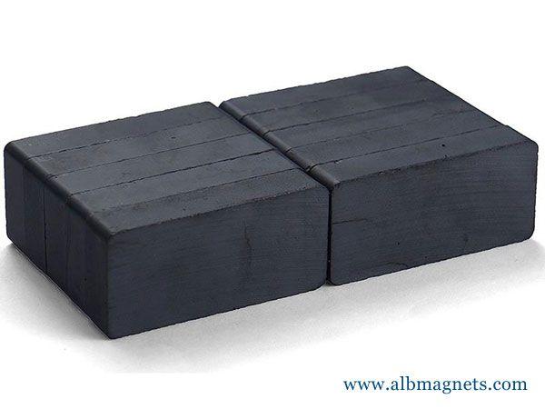customized ceramic permanent 40x25x10mm block y33 ferrite