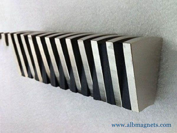 customized permanent arc neodymium magnet