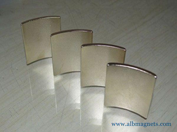 customized neodymium arc magnets magnet for motor