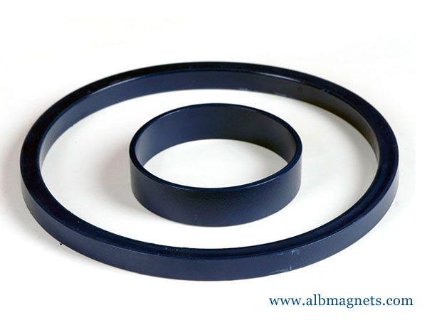 customized o ring ferrite ring magnet iron