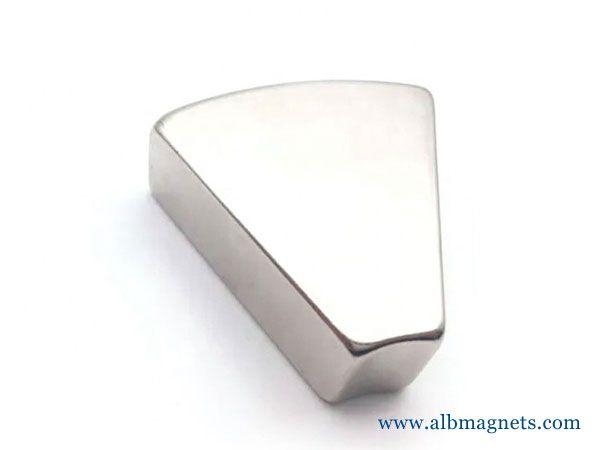 customized N35SH permanent arc neodymium motor electric magnet