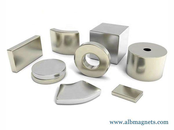 customized powerful disc block permanent neodymium magnet - ALB Magnets