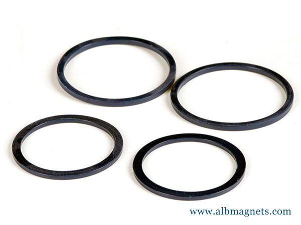 customized ring ferrite ring magnet iron