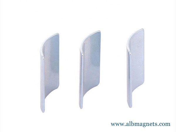 durable good quality ndfeb arc neodymium magnet