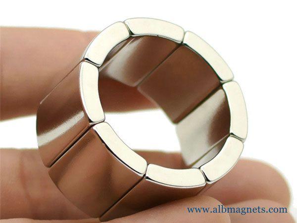 Arc Magnets For Motors