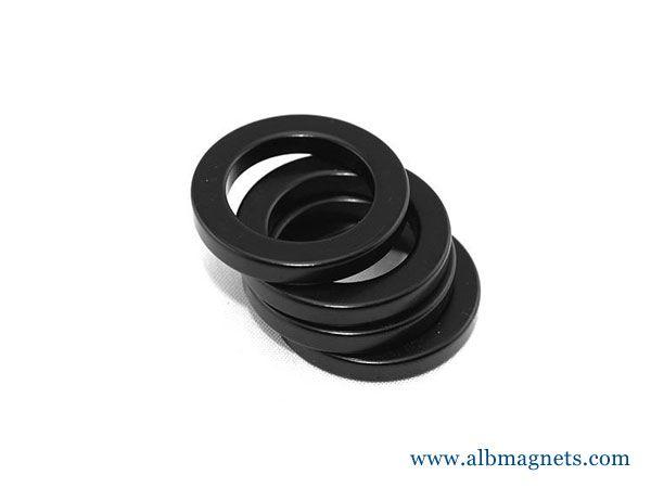factory wholesale custom black tube toroid permanent