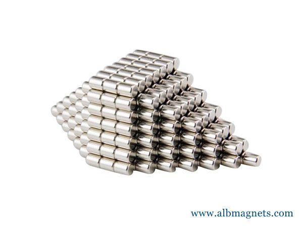 free sample albmagnets manufacturer customized cylinder neodymium