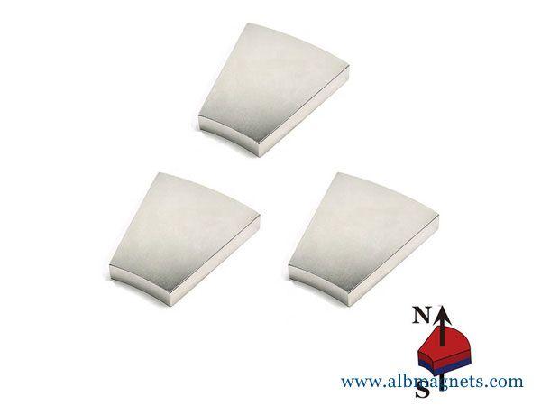 high coercive force wedge permanent neodymium magnet