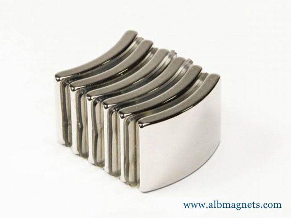 high gauss strong customized segment shape nickle