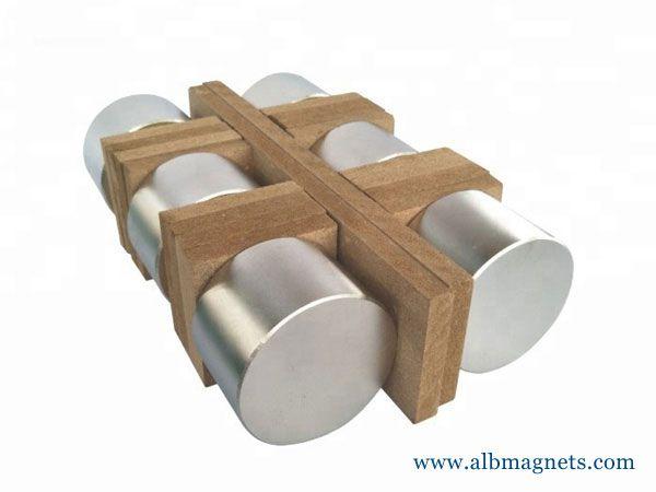 high performance large n52 cylinder neodymium magnets
