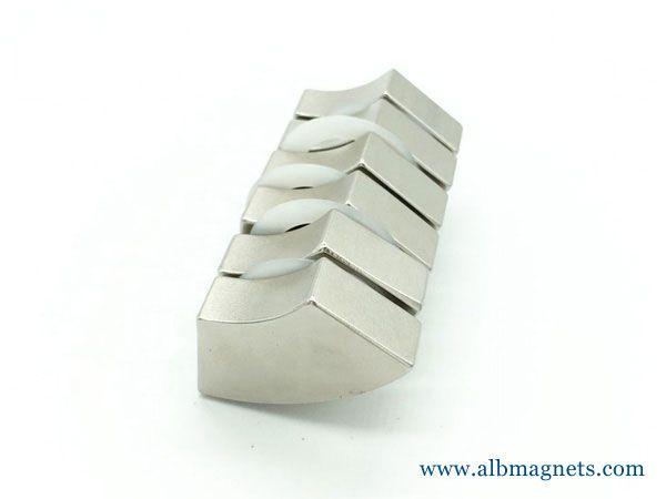 high performance n52 wedge neodymium magnet