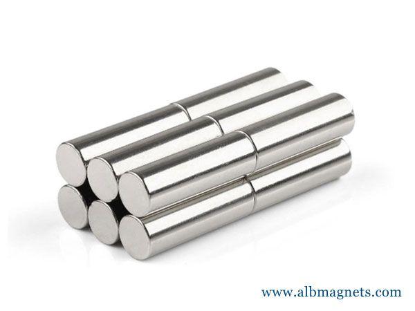 industrial manufacturer super strong cylinder sintered neodymium