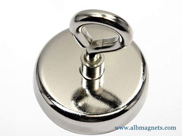 mounting 500kg neodymium pot magnet