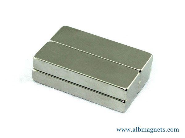 n45 50x25x10mm neodymium big block magnet