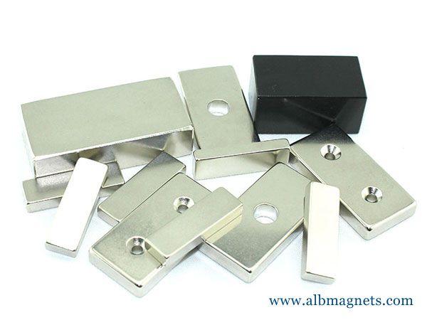 N45 50x25x10mm neodymium big block magnets