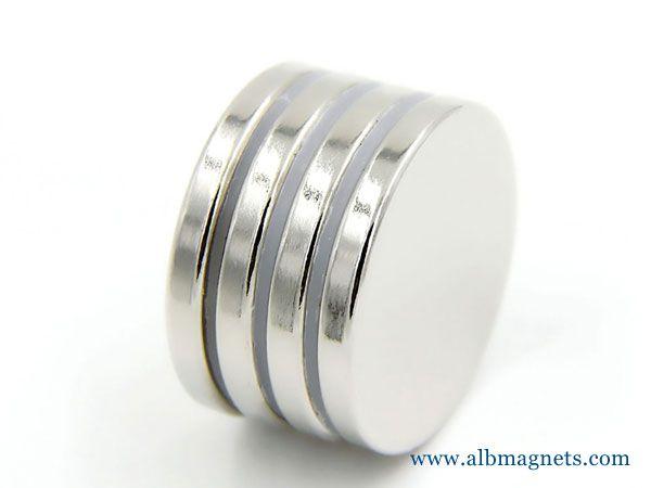 n52 neodymium disc magnets 25mmx3mm Button magnets