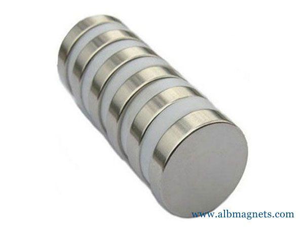 n52 super strong thin neodymium 20mm disc