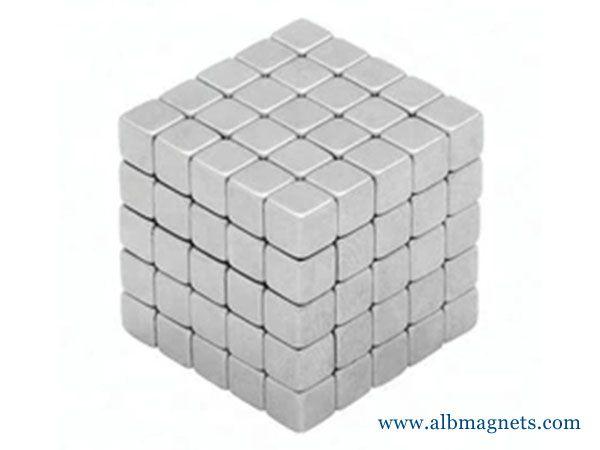 neo magnet cube small size neodymium magnet