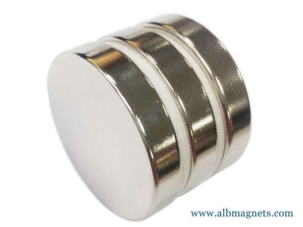neodymium steel disc magnet