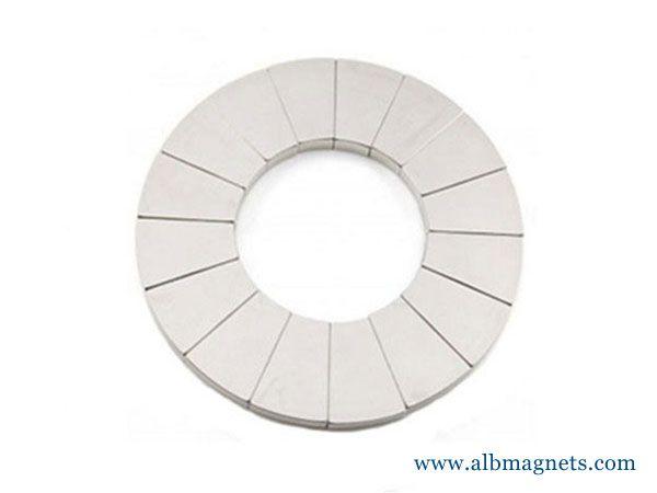 neodymium magnet fridge magnet wedge OEM magnet