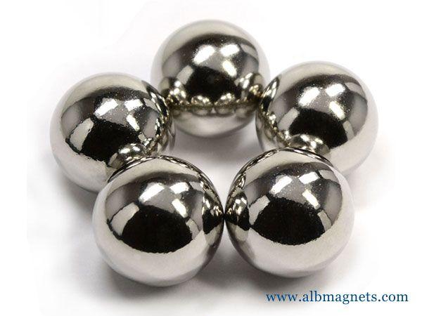 neodymium magnets sphere dia 1 n42 ndfeb