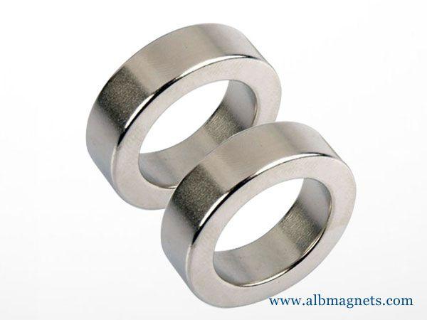 neodymium magnetised diametrically ring magnets