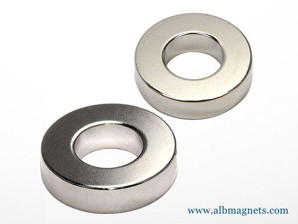 neodymium multi poles magnetized diametrically ring magnet