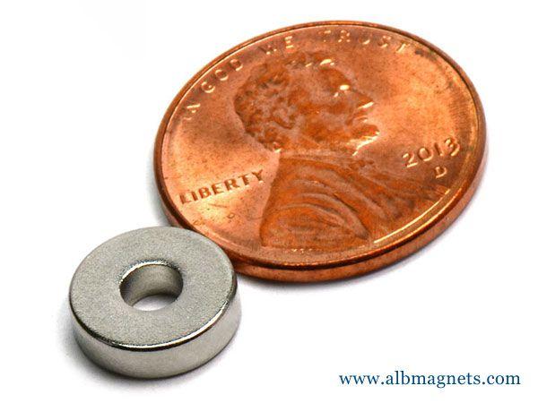 neodymium ring magnet n45 d38
