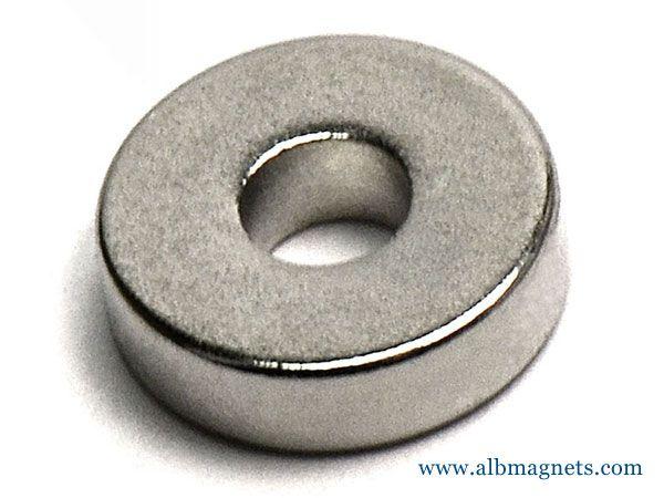 neodymium ring magnet n45 od3/8