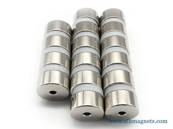 neodymium tube hopper magnet for water treatment