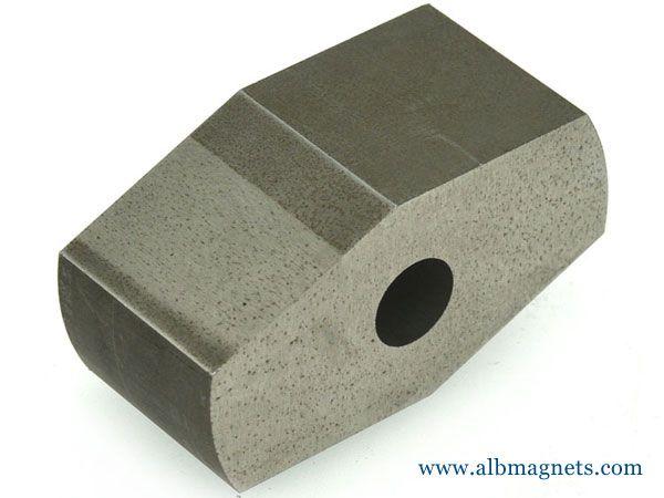 permanent cast industrial alnico magnet