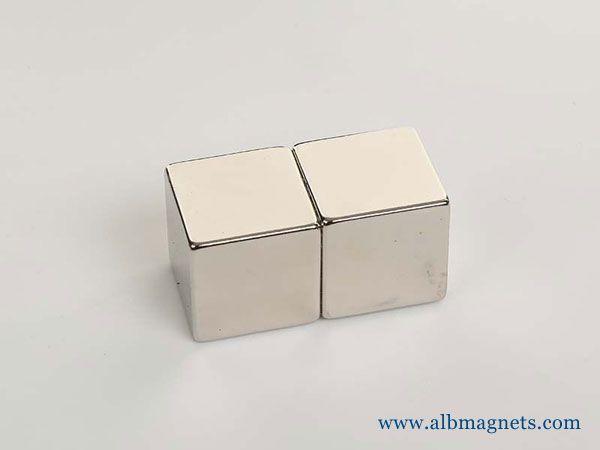 permanent magnet n52 neodymium 1inch cube magnets