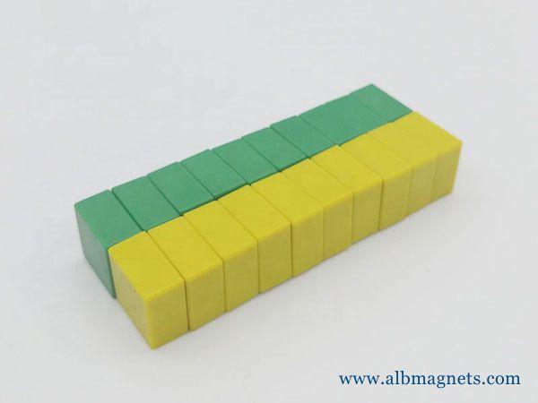 plastic coated magnet waterproof permanent magnets